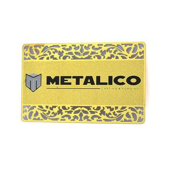Kreditkarte Größe Gravierte Gold Metall Visitenkarten Buy Visitenkarte Druck Meta Gravierte Metall Visitenkarten Kreditkarte Größe Metall Rohlinge