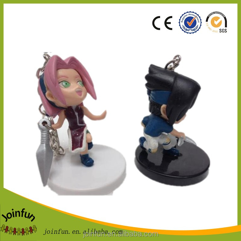 pvc vinyl cartoon keychain for promotion, professional manufacturer keychain, plastic customized keychain china supplier