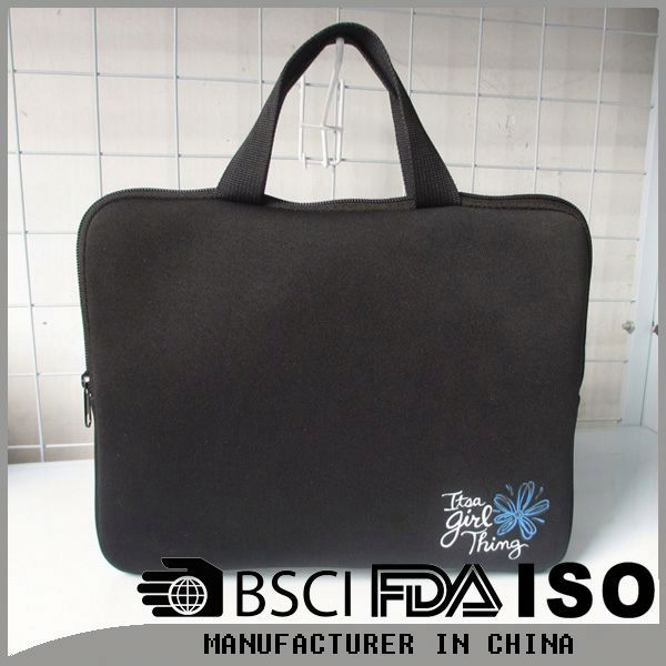 We supply laptop computer bags with logo