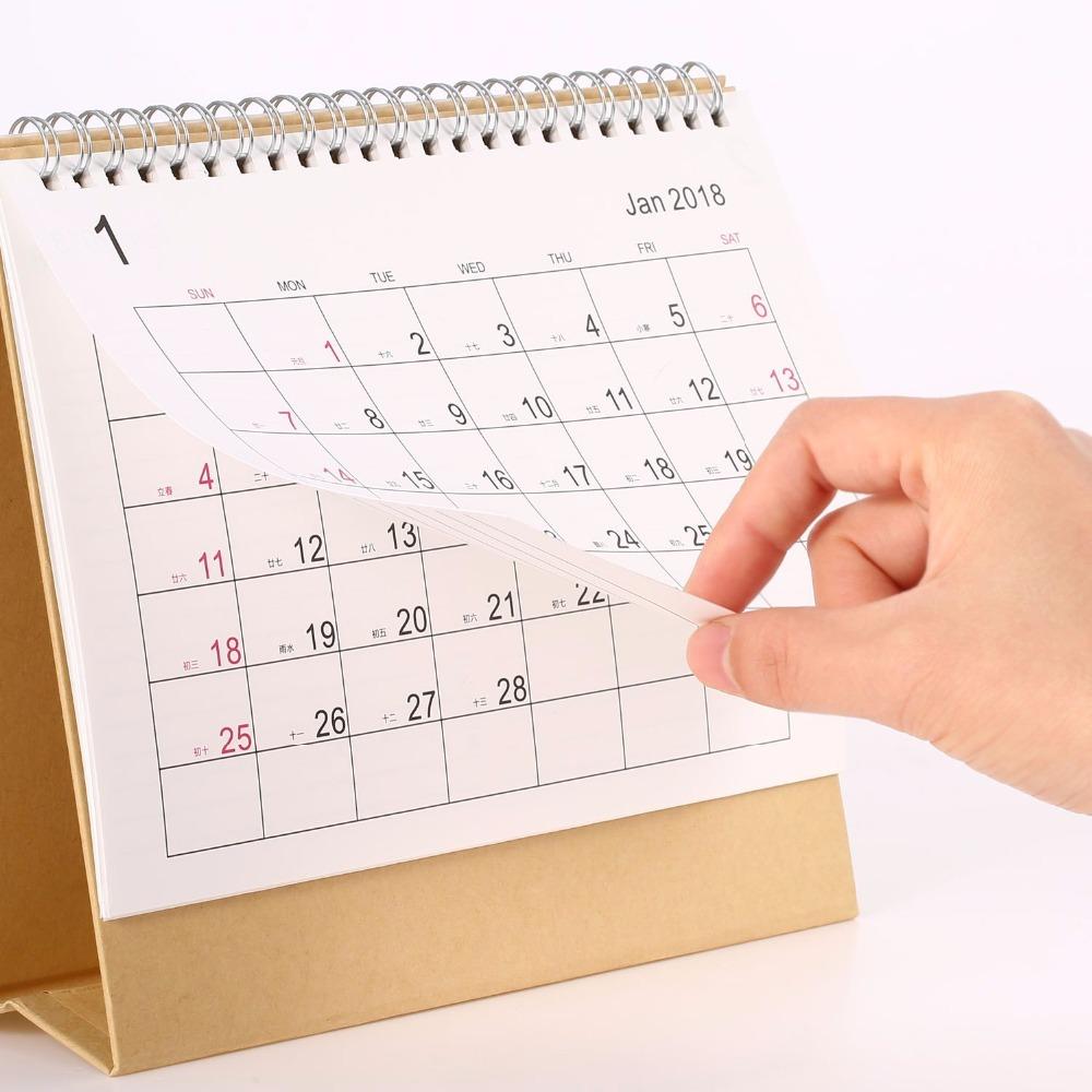 Custom Christmas Advent Perpetual Desk Calendar Printing 2019