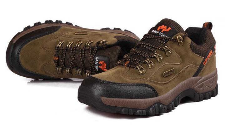 Hiking Shoes Breathable outdoor men  walking shoes slip-resistant sports hiking shoes