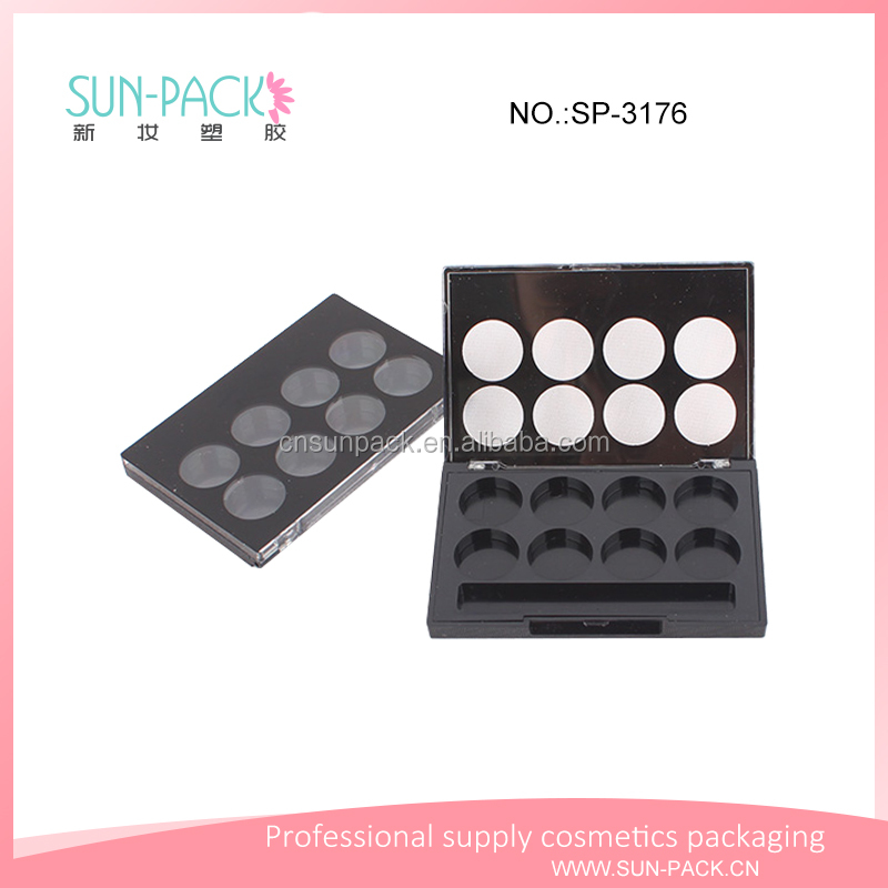 Wholesale new eyeshadow palette case eyebrow container blusher case makeup packaging