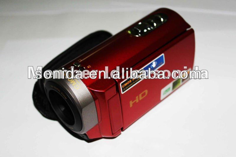wholesale 3.0 inchLCD mini dv digital camcorder 4X digital zoom maximum 16.0MP OEM mini DVC (HDV-501SXT)