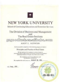 diploma certificate university certificate paper custom embosser
