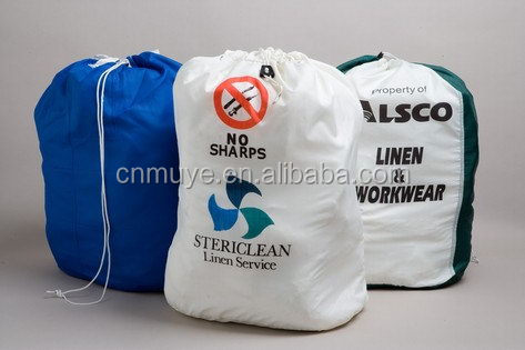Top quality classical folding drawstring laundry bag