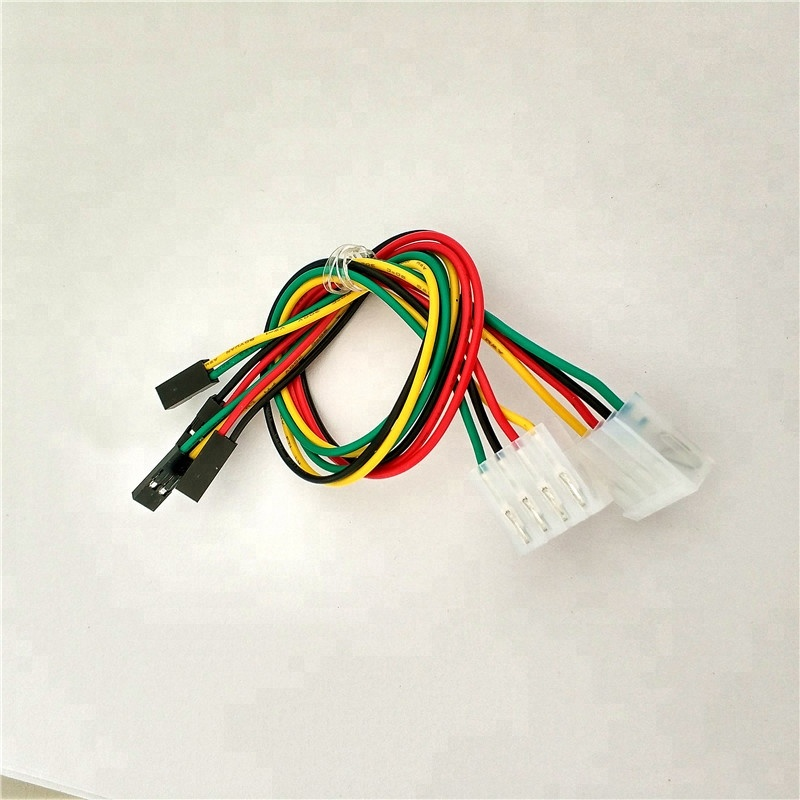 on 4 pin connector wiring harness