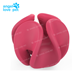 Durable Flexible Rubber Dog Treat Holder Ball pet toy