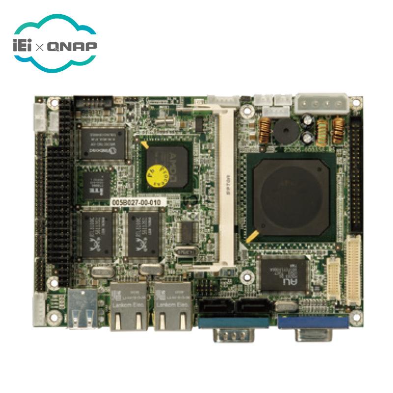 """IEI WAFER-LX-800-R12 3.5 """"AMD LX800 מעבד אמא מחשב לוח"""