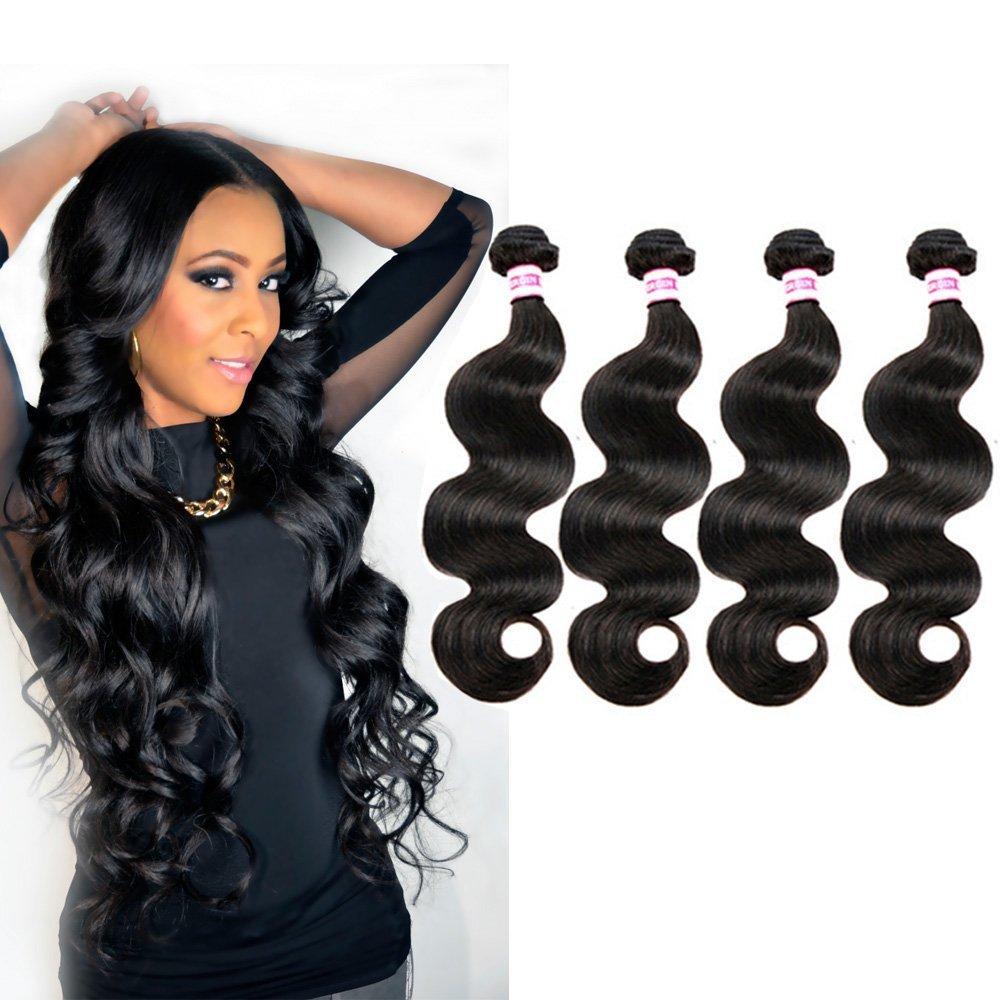 Buy Rabake 26 28 30 30inch Hair Indian Body Wave 4bundles 100 Real
