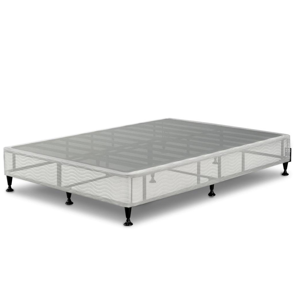 Home Steel king size Folding box spring bed frame