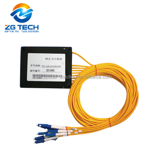 1X8 High quality & Low loss Planar Waveguide (PLC) Splitter for LAN WAN MAN System