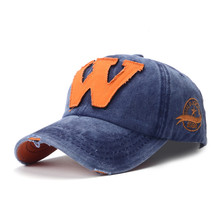 "Groothandel best selling custom letter ""W"" koreaanse low profile vilt <span class=keywords><strong>baseball</strong></span> cap"