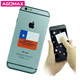 Factory direct self adhesive mobile cell phone sticky screen cleaner exporter