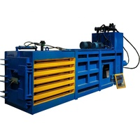 Waste material recycling machine hydraulic hay cardboard hydraulic metal baling and packing machine