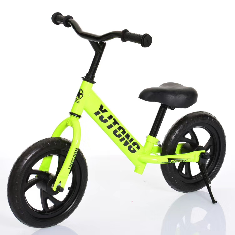 High quality 4 wheel children balance bike for 2 years old baby/metal material baby balance walking <strong>cycle</strong> /exercise balance bike