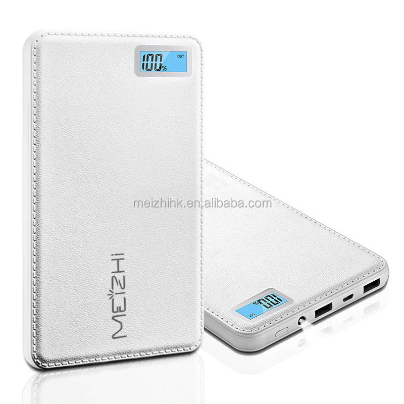 LCD screen 20000mah power bank mobile charger