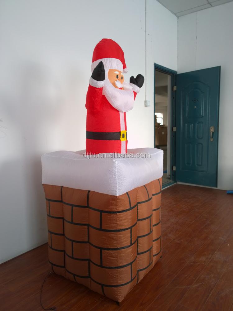 Air O Motion Inflatable Christmas Decoration Pop Up Santa