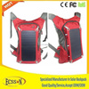 2015 portable solar bag, solar backpack with 10000mah mobile phone charger and 6.5W solar panel