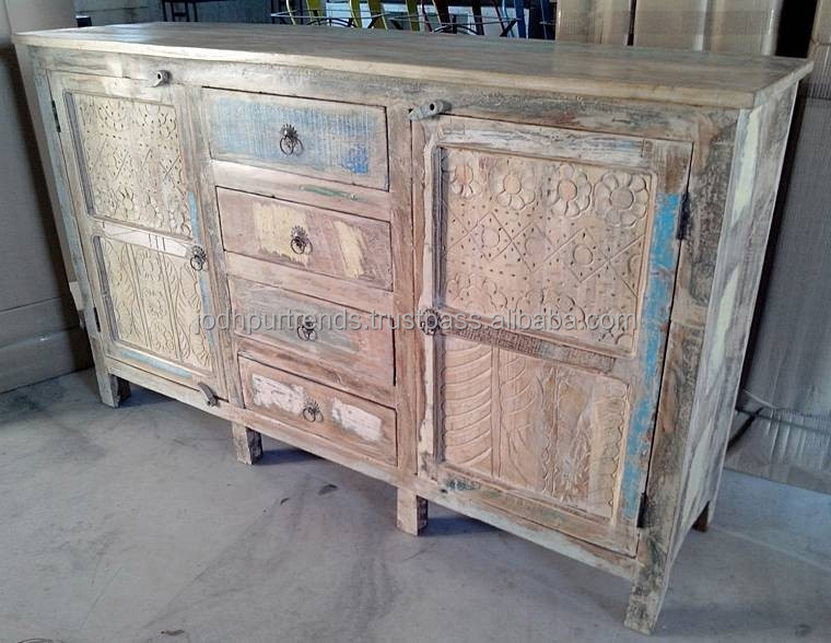 Indian buffet , Sideboard Buffet Wholesale Manufacturer & Supplier by JODHPUR TRENDS RETRO Furniture INDIA