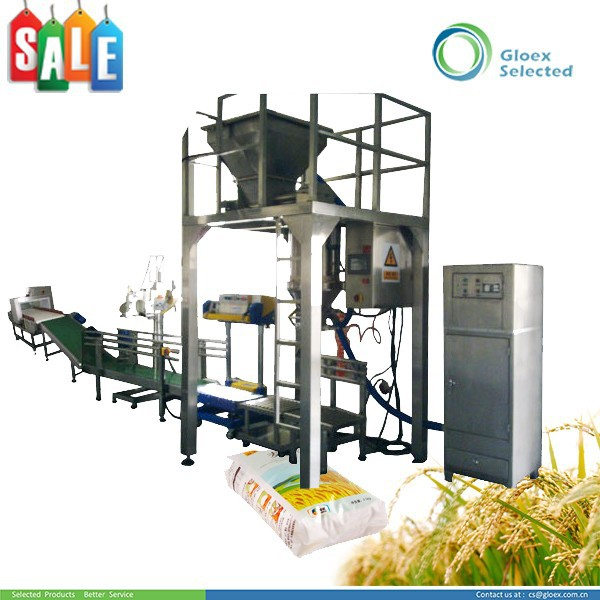 Semi-automatic Weighing sweet potato flour packing machine
