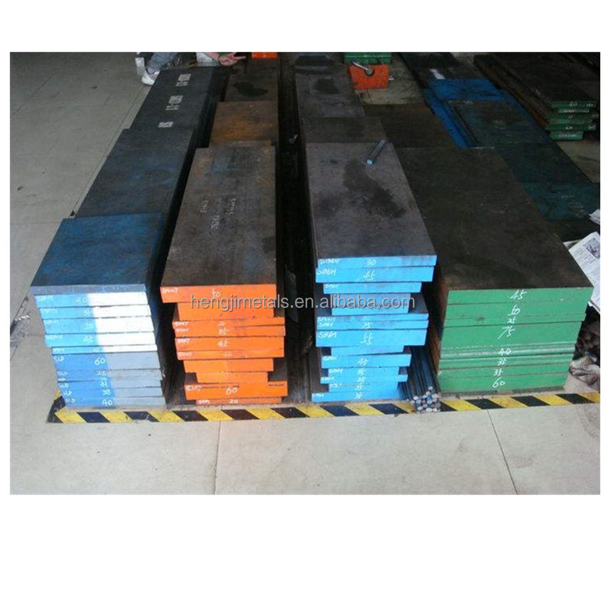 Cold work alloy mold steel bar DIN 2510 flat steel material 2379 steel round bar