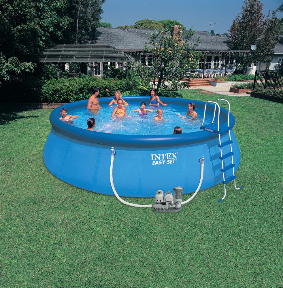 Rechteckigen Metallrahmen Pool Intex Frame Pool Ultra Stahlrahmen ...
