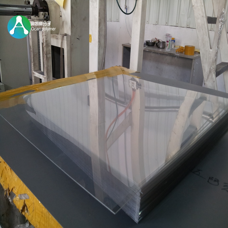 Recycled Clear Rigid Plastic PET Sheet For Folding Box