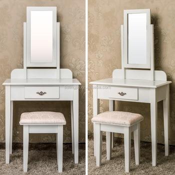 White Dressing Dresser Bedroom Vanity Table With Lighted Mirror Buy Bedroom