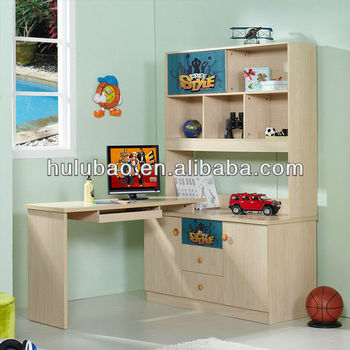 Libreria Angolare Con Scrivania.Bambini 1304 Bambini Tavolo Di Studio Con Armadio Scaffale