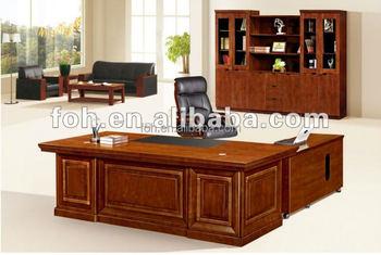 8 ft linha reta de madeira advogado mesa de escrit rio com for Escritorio de abogado