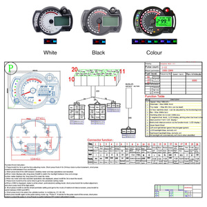 Digital Sdometer Circuit Diagram For Motorcycle - Somurich.com on