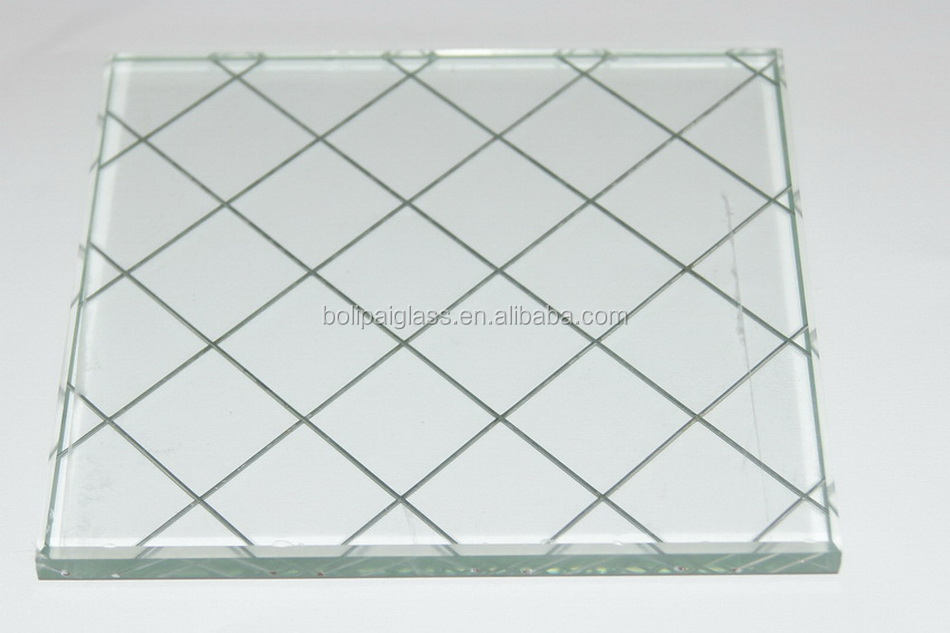 Good Quality Wire Mesh Glass Panels,Laminated Wire Mesh Glass - Buy ...