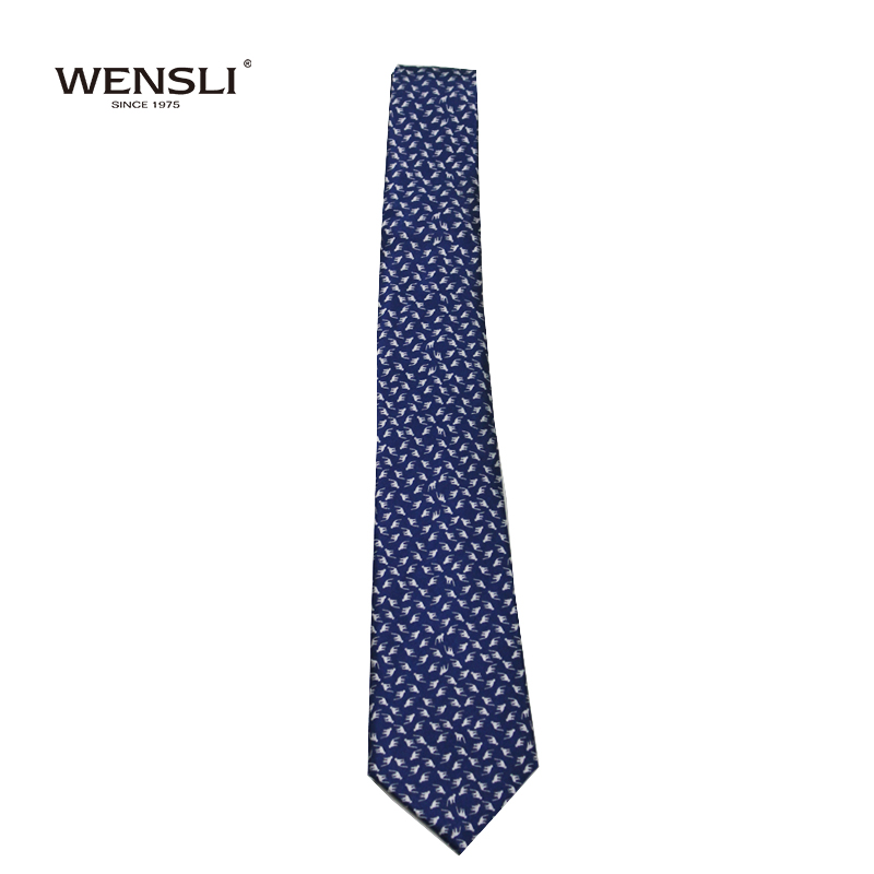 WENSLI 2017 New Design Gentleman Silk Tie for Party