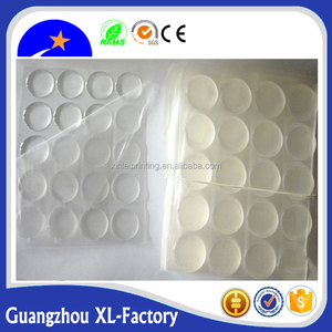 Adhesive dome epoxy sticker machine making for resin label