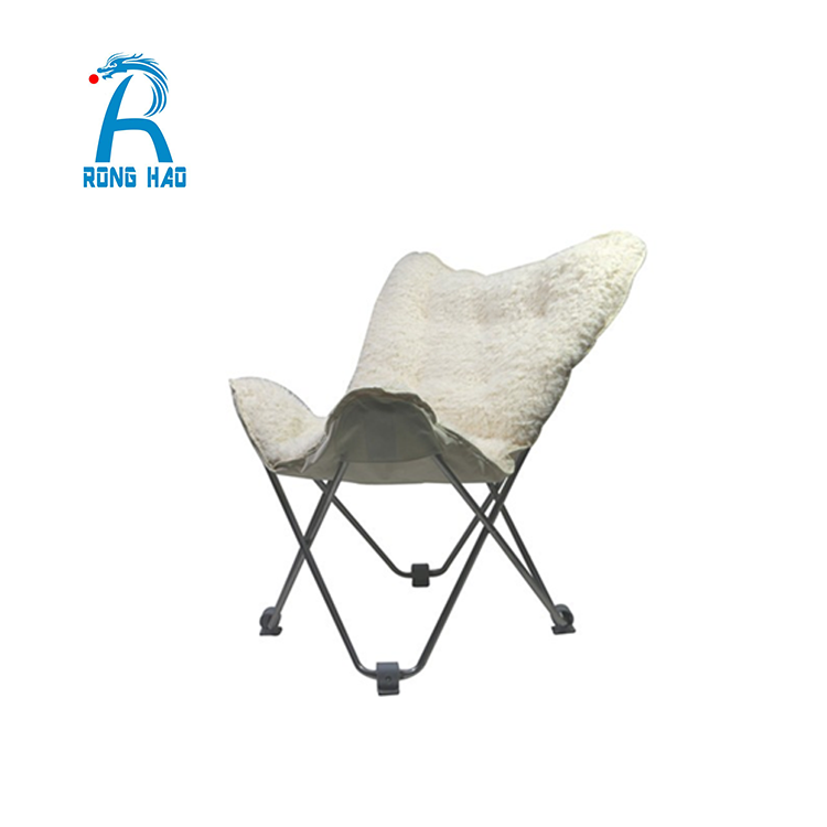 Custom Outdoor Garden High Long Back Chair, Folding Chair,Folding Butterfly Chair