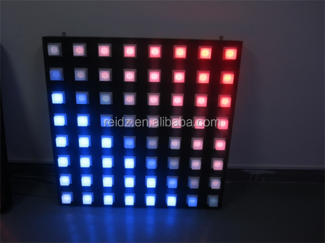 2015 Decorative Popular Beautiful Modern Bubble Wall LED Dot Light Display