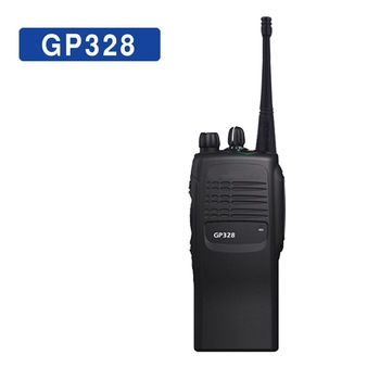 GP328 Professional Walkie Talkie 16CH Portable VHF/ UHF Two Way Radio