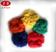 polyester staple fibers colored good material