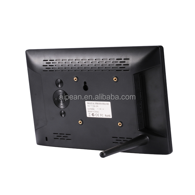 "Aangepaste HD 1080 P video panel digitale fotolijst 12 ""inch tv screen lcd monitor voor commerciële reclame display"