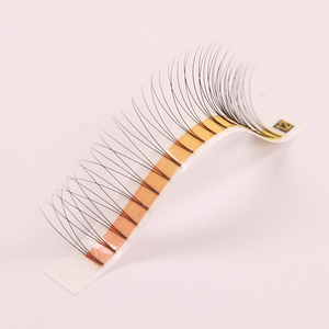 Silk Volume Lashes Pre Made Wide Rootless Eyelash Extension 3d Mink