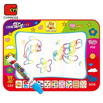 Top Seller Amazon Water Drawing Mat Doodle Mat Aqua Magic Doodle Mat