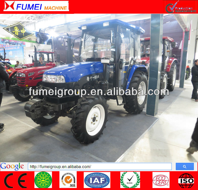 Hot sale LUZHONG 65hp 4wd tractor