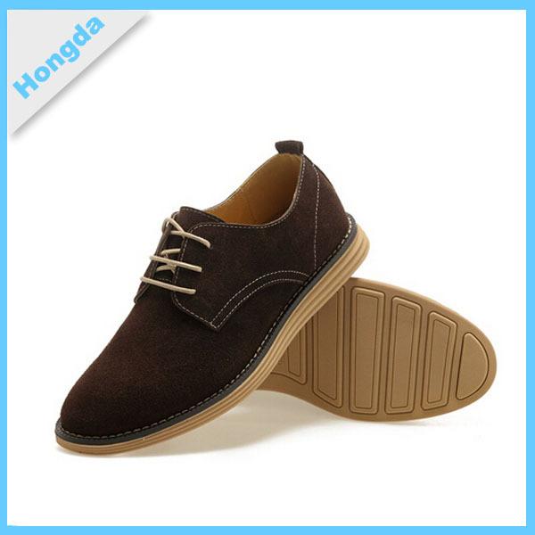e9300c6b8e674 2015 2016 Printemps Classique Marron en cuir Pour Hommes chaussures de  loisirs