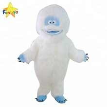 Funtoys CE adulto Mascot Costume de natal Do Abominável Homem Das Neves