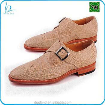 2f472b9edd73 Экзотических Настоящая Крокодиловая Кожа Мужская Обувь Монки - Buy ...