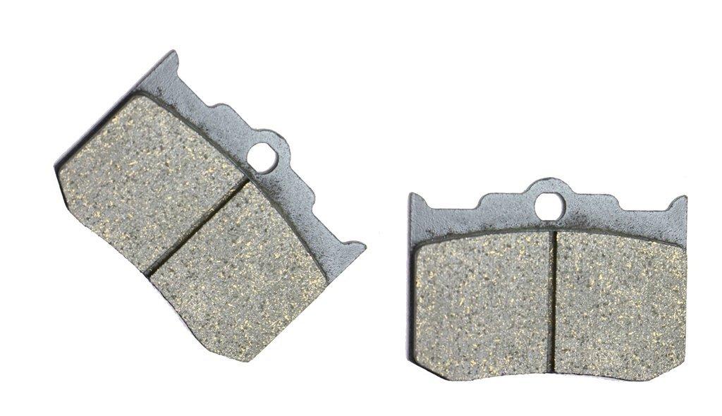 CNBK Front Brake Pad Semi Metallic fit PERFORMANCE MACHINES Street Bike 137X4B Caliper 1 Pair(2 Pads)