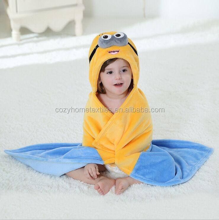 a2461406ba21 16 Styles Animal Shape Baby Hooded Bathrobe Cute Baby Bath Towel ...