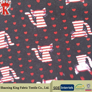 New Style english cotton printed fabric
