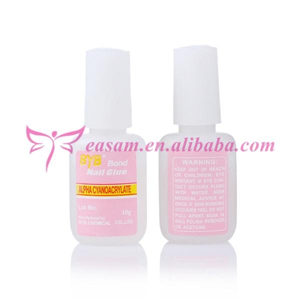 10g Nail Art Glue,Nail Glue For Nail Decoration With Brush - Buy 10g ...