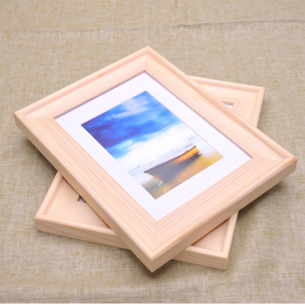 wholesale innovative design vintage plywood photo frame